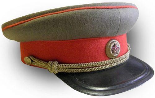 Фуражка повседневная генерала РККА образца 1940 года.