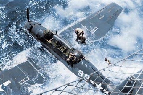 Спасение экипажа торпедоносца TBF Avenger. 1943 г.