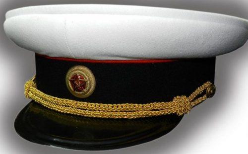 Фуражка повседневная летняя артиллерийских генералов РККА образца 1940 г.