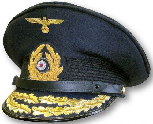 Фуражка адмирала Кригсмарине.