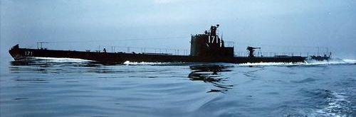 Подлодка «Cuttlefish» в походе. 1943 г.