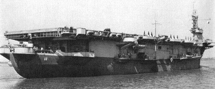 Авианосец «Card». 1943 г.