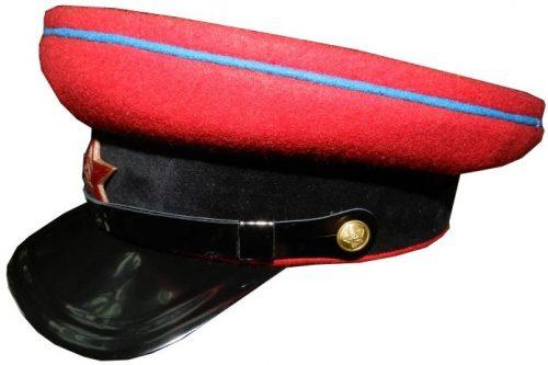 Фуражка ВОСО (службы военных сообщений) образца 1941 года.