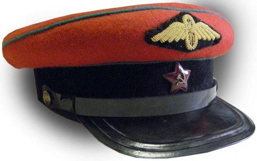 Фуражка начсостава ВОСО образца 1943 года.