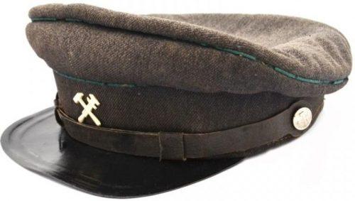Фуражка служащего НКПС образца 1943 года.