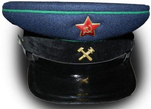 Фуражка старшего и среднего начсостава НКПС образца 1943 года.