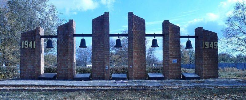 п. Петропавловка. Памятник советским воинам, установленный в 1956 г.