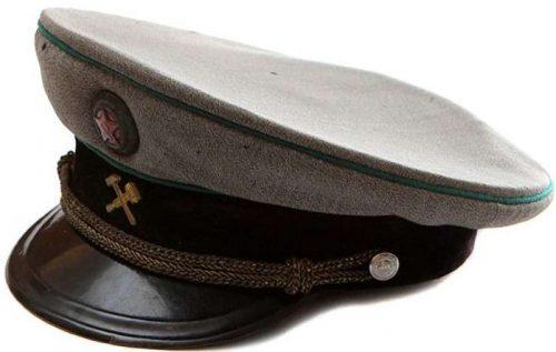 Фуражка генералов НКПС образца 1943 года.
