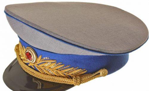 Фуражка парадная генералов кавалерии РККА образца 1943 года.
