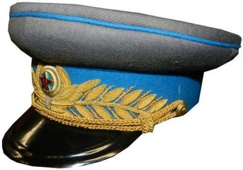 Фуражка парадная генералов ВВС РККА образца 1943 года.
