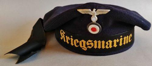 Бескозырка Кригсмарине образца 1938 года.