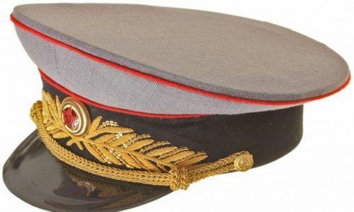 Фуражка парадная генералов и маршалов бронетанковых войск РККА образца 1943 года.