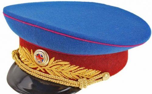 Фуражка парадная комиссара Государственной Безопасности, генерала Внутренних Войск НКВД образца 1943 года.