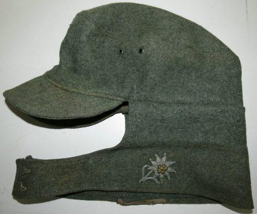 Кепи рядового состава горнострелковых частей СС образца 1940 г.