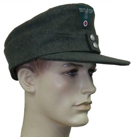 Кепи из сукна рядового состава Вермахта образца 1943 года.