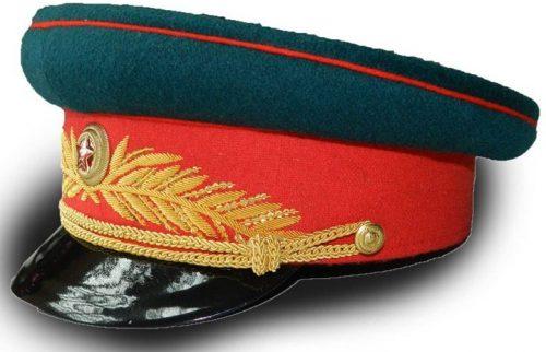 Фуражка парадная общевойсковая генерала РККА образца 1945 года.