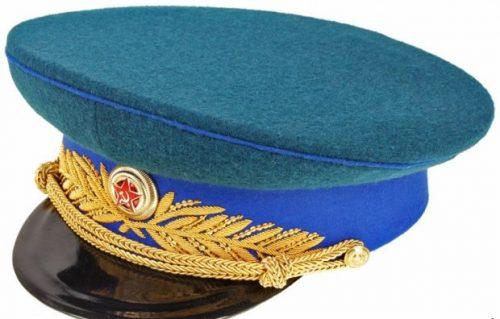 Фуражка парадная генерала и маршала кавалерии образца 1945 года.