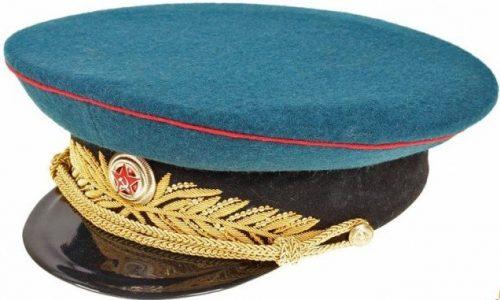 Фуражка парадная генерала и маршала бронетанковых войск образца 1945 года.