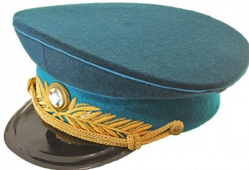 Фуражка парадная генерала и маршала ВВС образца 1945 года.
