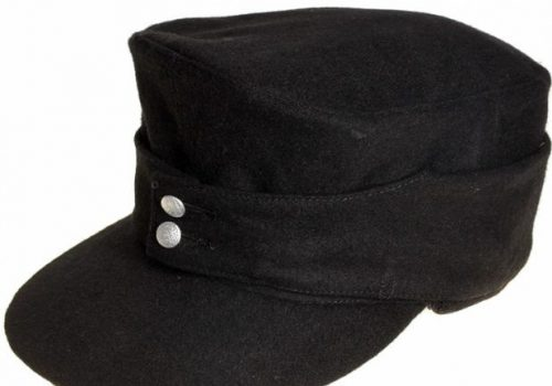 Кепи из сукна рядового состава бронетанковых войск Вермахта образца 1943 года.