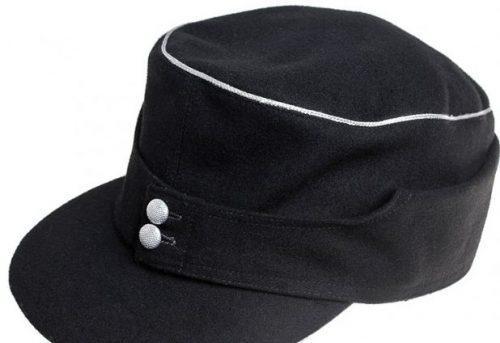 Кепи из сукна для офицера бронетанковых войск Вермахта образца 1943 года.