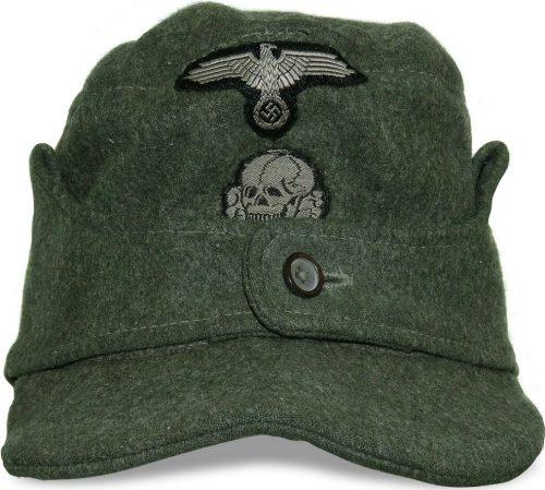 Кепи рядового состава войск СС образца 1943 года.