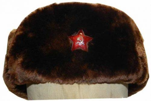 Зимняя шапка-финка для начсостава при ношении с бекешей образца 1931 года.