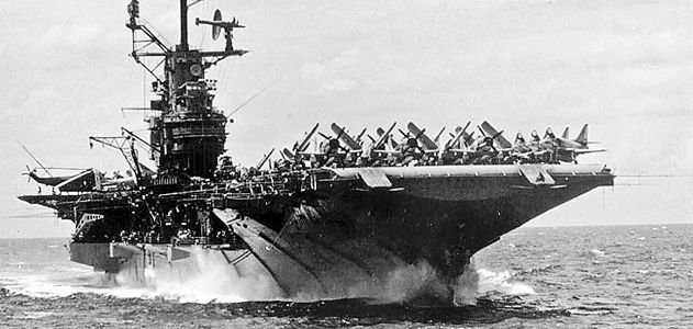 Авианосец «Intrepid». 1944 г.