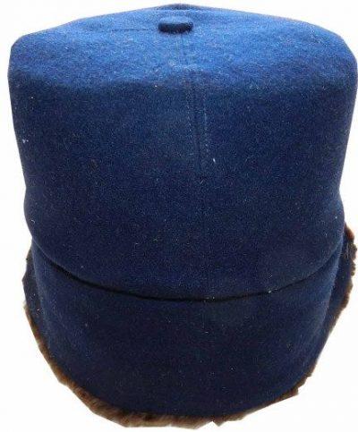 Зимняя шапка-финка для личного состава милиции НКВД образца 1940 года, введенная Приказом НКВД СССР от 08.02.1940 г.