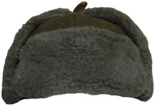Шапка-ушанка начальствующего состава РККА образца 1941 года.