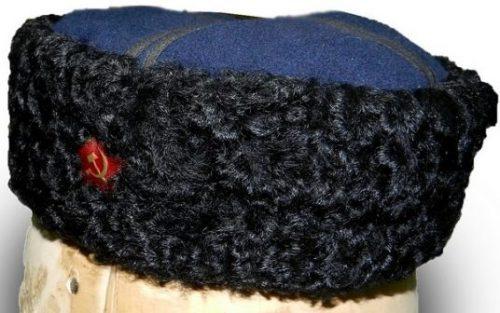 Шапка-кубанка для рядового состава Терских казачьих частей образца 1943 г.