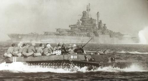 Высадка десанта на Окинаву. Апрель 1945 г.