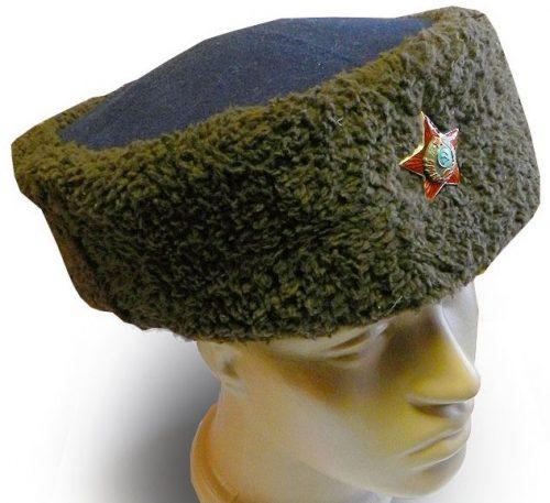 Шапка-кубанка для личного состава милиции НКВД образца 1940 года.