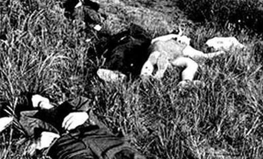 Жертвы резни в Марзаботто.