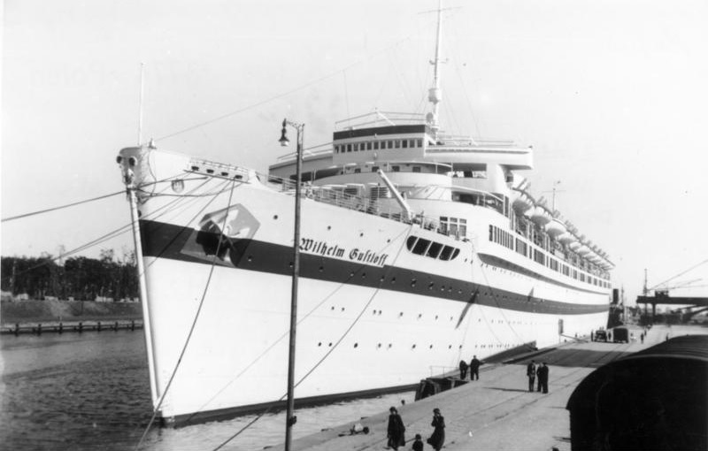 «Вильгельм Густлофф», переоборудованный в плавающий госпиталь. 1939-1940 гг.