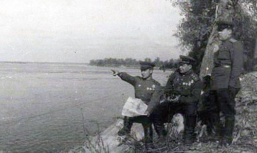 Рекогносцировка местности перед началом Аккерманской десантной операции.