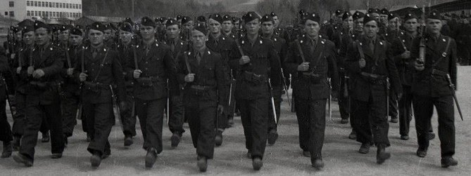 Хорватские войска.