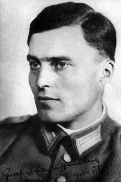 Клаус фон Штауффенберг.