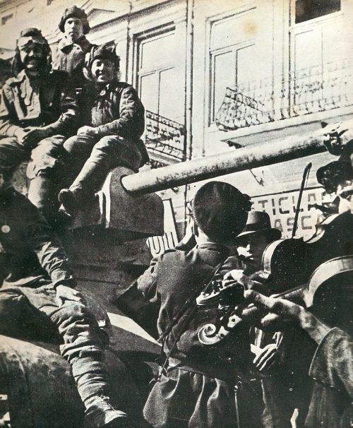 Советские войска в Румынии.