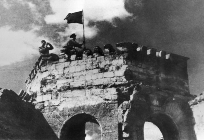 Красное знамя над Кишиневом. 24 августа 1944 г.
