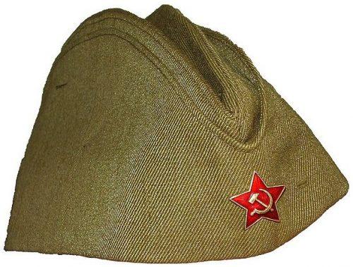 Пилотка рядового красноармейца.
