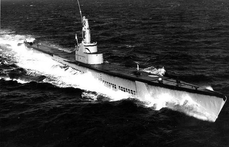 Подводная лодка ВМС США «Queenfish» (SS-393).