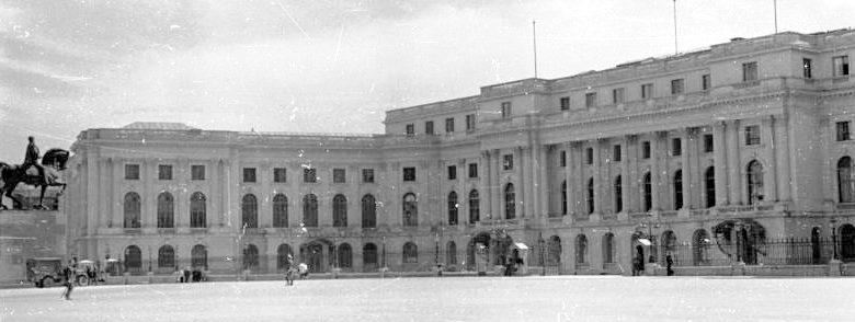 Королевский дворец в Бухаресте.