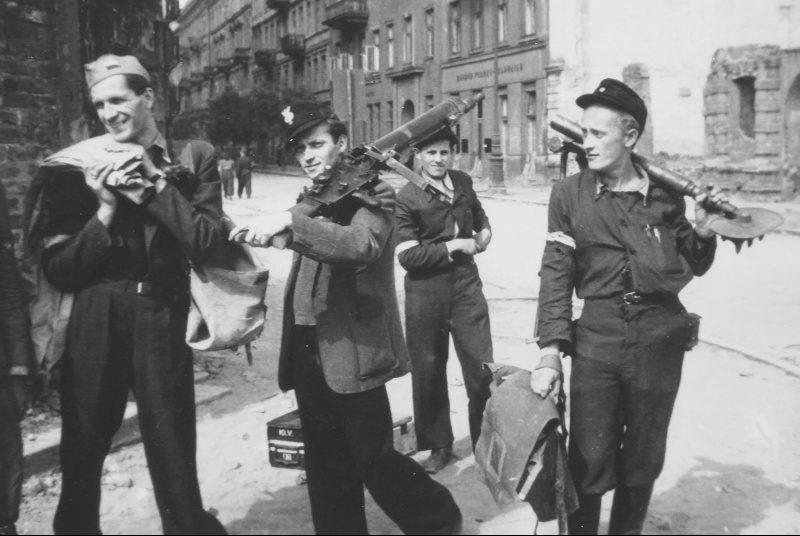 Польские повстанцы.