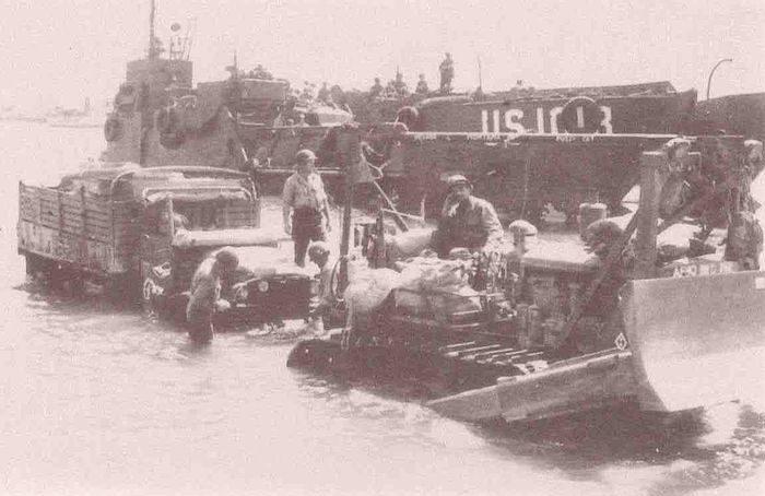 Высадка войск Союзников.