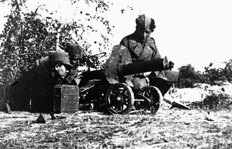 Югославские партизаны.