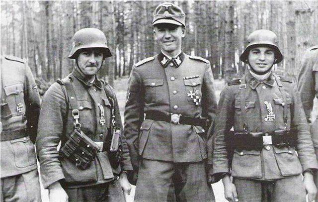 Солдаты дивизии СС «Галичина».