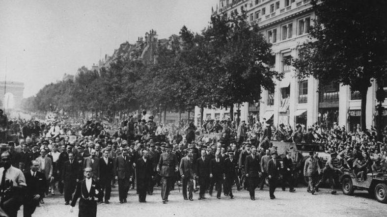 Парад победы, 25 августа 1944 г.