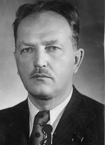 Василий Зотов - министр пищевой промышленности СССР.