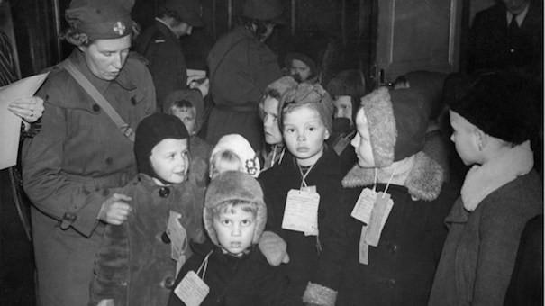 Эвакуация детей.